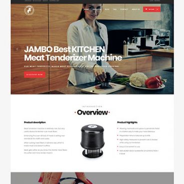 Kitchen Website Designed & Developed By Herald Lynx Lahore Pakistan