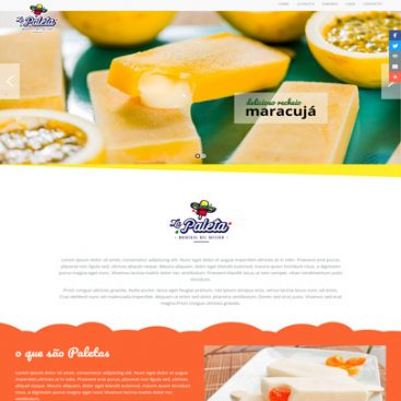 La Paletas Ice Cream Website Designed & Developed By Herald Lynx Lahore Pakistan